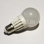 Светодиодная лампа E27, 8Вт (60Вт), тёплый белый