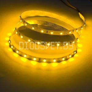 Светодиодная лента 3528, IP20, жёлтый, 60LED, 1м
