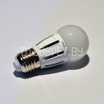 Светодиодная лампа E14, 6Вт, тёплый белый, шарик