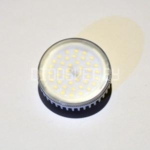 Светодиодная лампа GX53, 7Вт, тёплый белый
