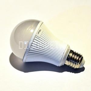 Светодиодная лампа E27, 13Вт (100Вт), тёплый белый, 220V