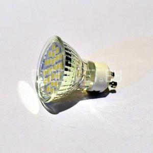 Светодиодная лампа GU10, 4.5Вт (50Вт), дневной белый