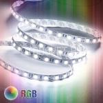 Светодиодная лента RGB 5050, IP65, 60LED, 1м