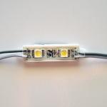 Светодиодный модуль 5050, холодный белый, 0.48Вт, 2LED