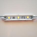 Светодиодный модуль 5050, холодный белый, 0.72Вт, 3LED