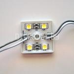 Светодиодный модуль 5050, холодный белый, 0.96Вт, 4LED