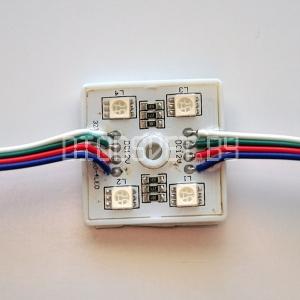 Светодиодный модуль 5050, RGB, 0.96Вт, 4LED