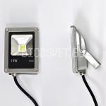 Светодиодный прожектор (слим) 10Вт, IP65, холодный белый