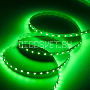Светодиодная лента 5050, IP20,LUX ''High class''  зелёный, 60LED, 1м