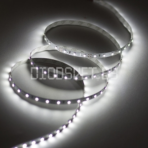 Светодиодная лента 2835, IP20, холодный белый, 60LED, 1м