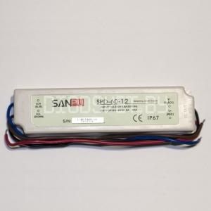Блок питания 50W, 12V, герметичный, IP67