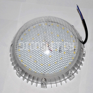 Светодиодный светильник ЖКХ 25Вт, антивандальный, ударопрочный, IP65