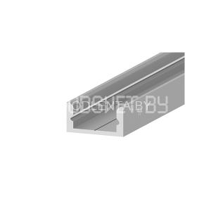 Алюминиевый профиль GS-03 (2000х16х7мм), накладной, цена за метр без экрана