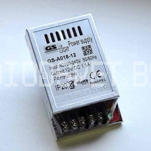 Блок питания 15W, 12V, открытый, IP20