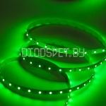 Светодиодная лента 3528, IP20, зелёный, 60LED, 1м