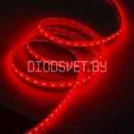 Светодиодная лента 5050, IP20, красный, 60LED, 1м