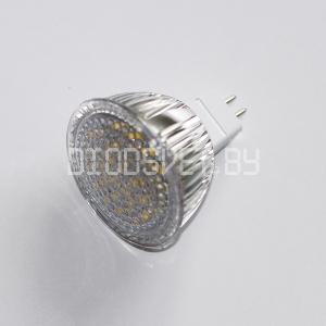 Светодиодная лампа G5.3 (MR16-220V), 5.5 Вт (80 Вт), дневной белый,  DOT